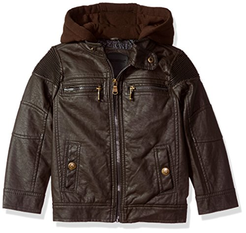 Urban Republic Baby Boys Ur Faux Leather Jacket
