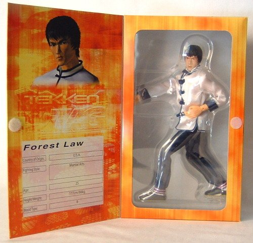 "Tekken Tag Tournament 12"" Figure Forest Law"