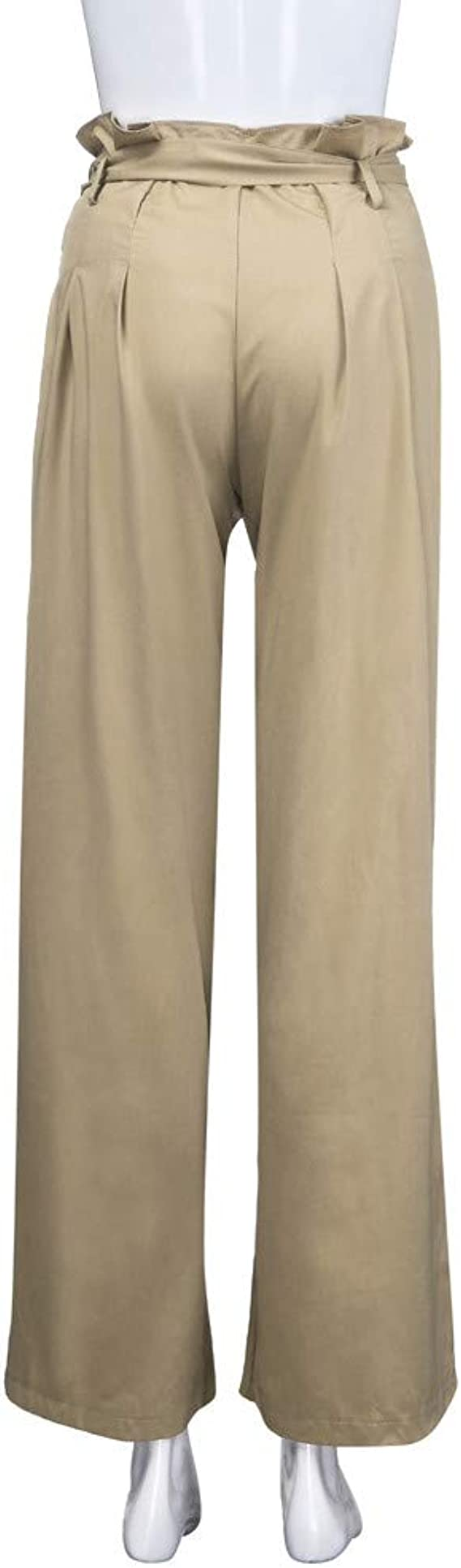 Pantalones Anchos Marlene Para Mujer Otono Invierno 2018 Moda Paolian Casual Pantalones Acampanados Ajustado Cintura Alta Fiesta Palazzo Pantalon Fluido Elastico Baggy Vestir Senora Ropa Mujer