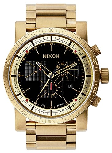 All Gold/Black The Magnacon SS II by Nixon