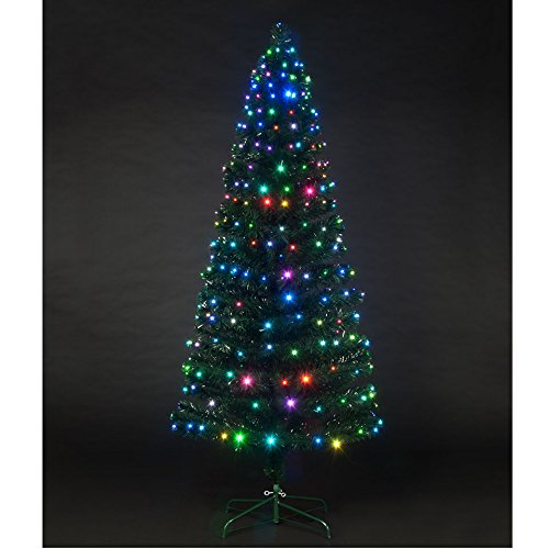 fdce935638a 4ft Colour Changing Snowbright Christmas Tree  Amazon.co.uk  Kitchen   Home