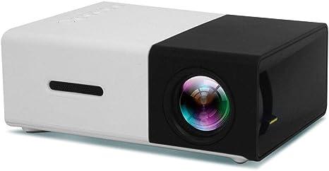 LYDIANZI Mini proyector portable Partido Encuentro de cine en casa ...