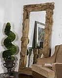 Extra Large DRIFTWOOD 79″ FULL LENGTH Wall Mirror Floor Leaner