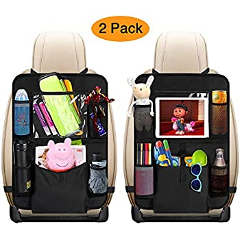 Activity & Gear Car Seat Back Cover Mat Baby Feeding Bottle Snack Tablet Organizer Cartoon Storage Bags Multi-functional Hanging Holders