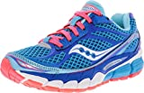 Cheap Saucony Women's Ride 7 Running Shoe,Blue/Vizicoral,6 M US