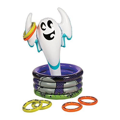 (Scary Ghost Inflatable Cooler Ring)