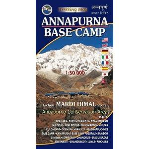 :Trekking Map Mardi Himal