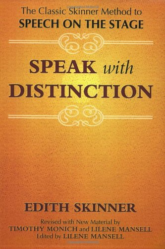 Speak With Distinction Text