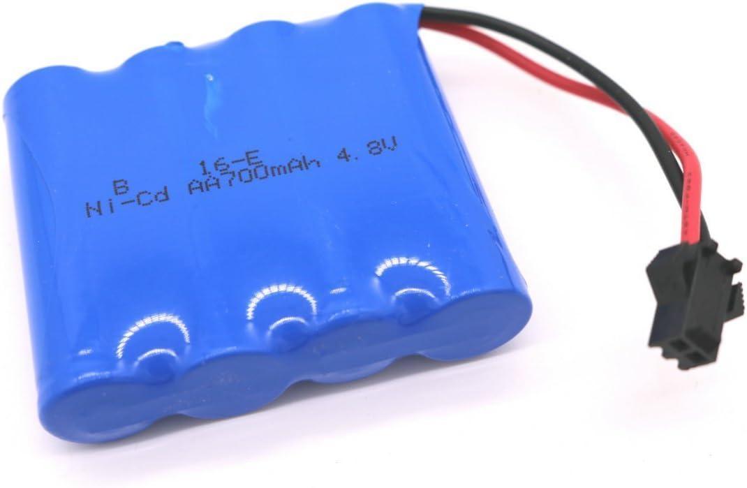 Bateria 4.8v 700mah Ni-cd Aa Conector Sm 2p Plug