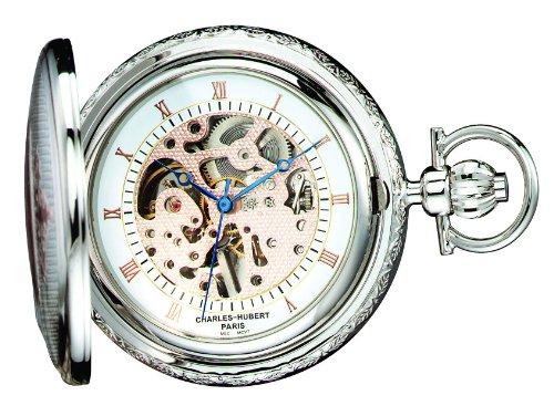 Charles-Hubert, Paris 3805 Two-Tone Mechanical Pocket Watch