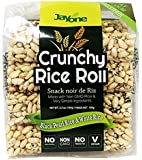 Jayone Crunchy Rice Rolls Black Pearl Rice and White Rice