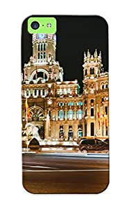 Ednahailey Anti-scratch And Shatterproof Madrid Spain Phone Case For Iphone 5c/ High Quality Tpu Case