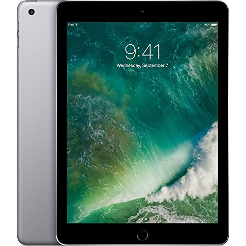 Apple iPad with WiFi, 128GB, Space Gray (2017 Model)