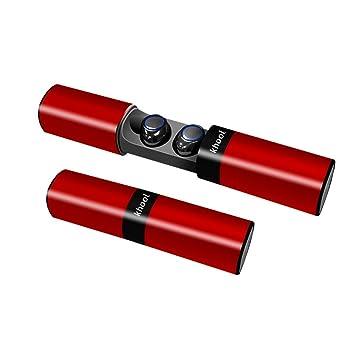 Mini Auriculares Bluetooth Inalambricos Khool. Mini Auriculares Inalambricos con Micrófono y Caja de Carga. Carga magnética de Succión.