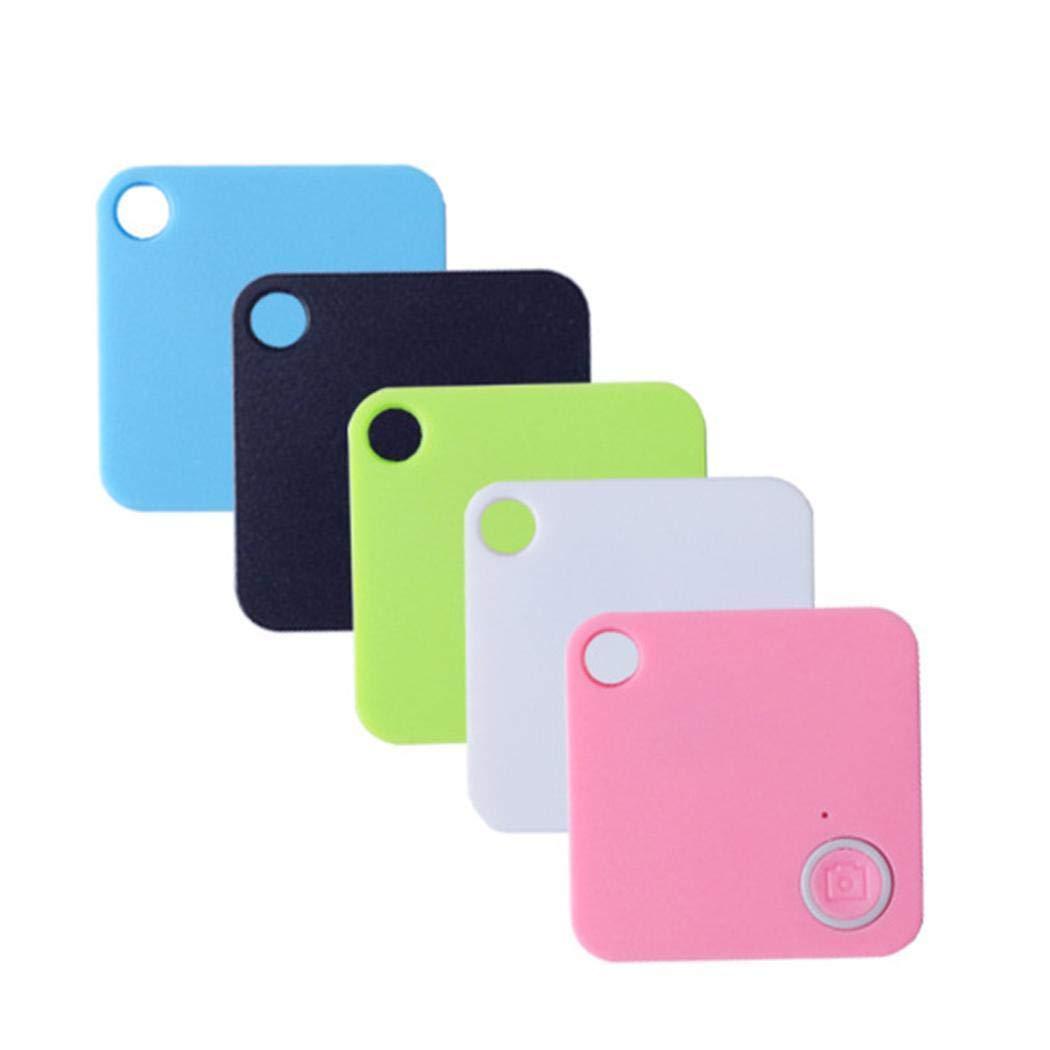 weihill Dispositivo de Robo antip/érdida Alarma Mini Bluetooth Wallet Key GPS Tracker para ni/ños Mascota Inform/ática