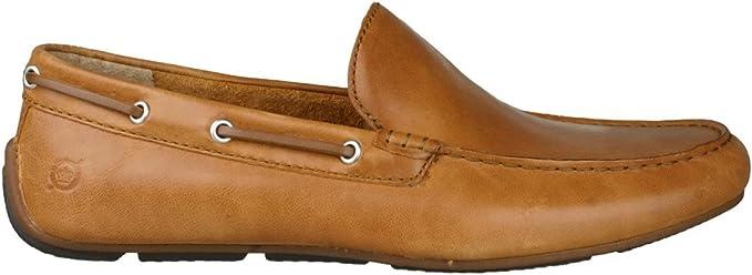 Born Mens Shoes Driving Moc Slip