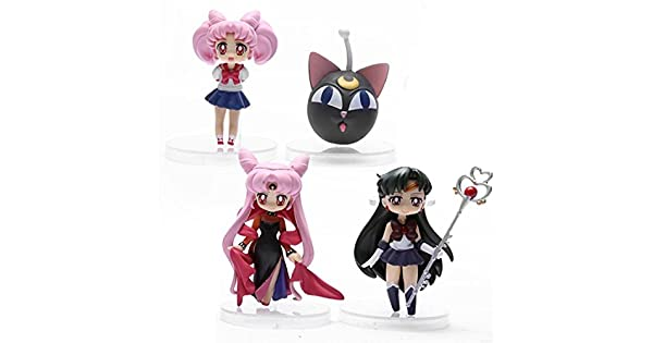 Amazon.com: Anime Sailor Moon Sailor Pluto Sailor Chibi Moon ...