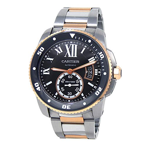 - Cartier Calibre de Cartier Automatic-self-Wind Male Watch W7100054 (Certified Pre-Owned)