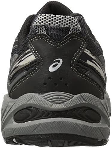 51wYkblUulL. AC ASICS Men's GEL Venture 5 Running Shoe    The GEL-Venture 5 provides great fit and everyday comfort, with Rearfoot GEL Cushioning and a rugged outsole ideal for a variety of terrains. ImportedRubber soleOutdoor-ready runner with mesh and brushstroke-patterned underlaysRearfoot GEL cushioningRemovable sockliner accommodates medical orthoticsTrail-specific outsole with reversed traction lugsAHAR outsole rubber in critical high-wear areas