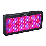 BESTVA 1800W Double Chips LED Grow Light Full Specturm Grow Lamp for Greenhouse Hydroponic Indoor Plants Veg and Flower
