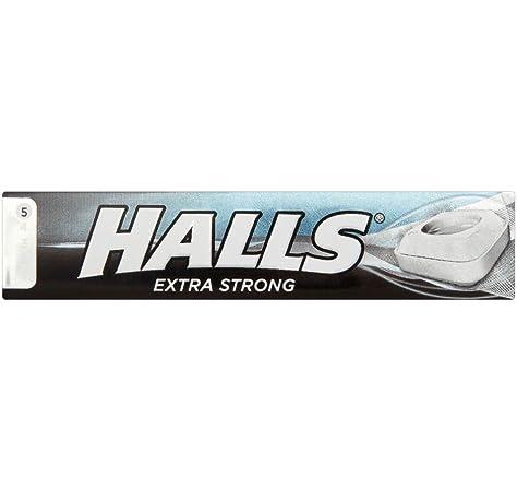 Halls - Caramelos de menta extrafuerte - 34 g - Pack de 3 unidades: Amazon.es: Alimentación y bebidas