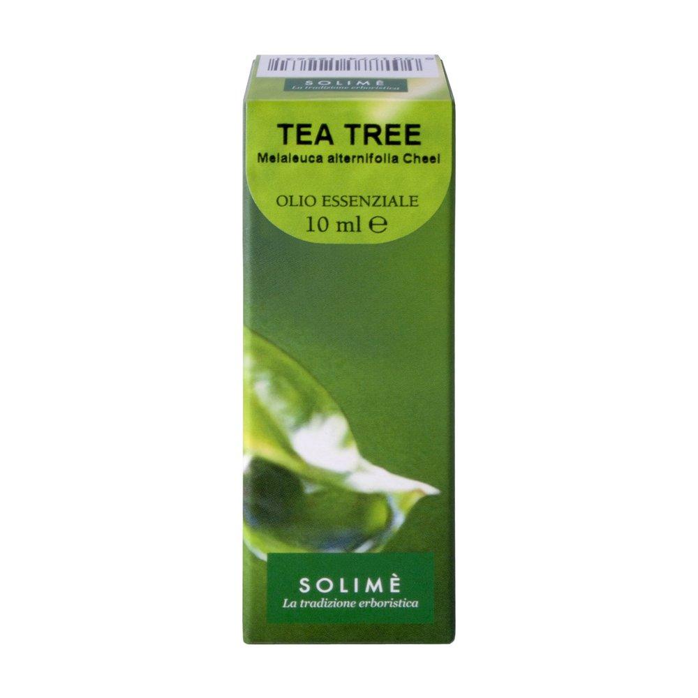 Olio essenziale Tea Tree puro al 100% 10 ml - Prodotto erboristico made in Italy Solimè srl