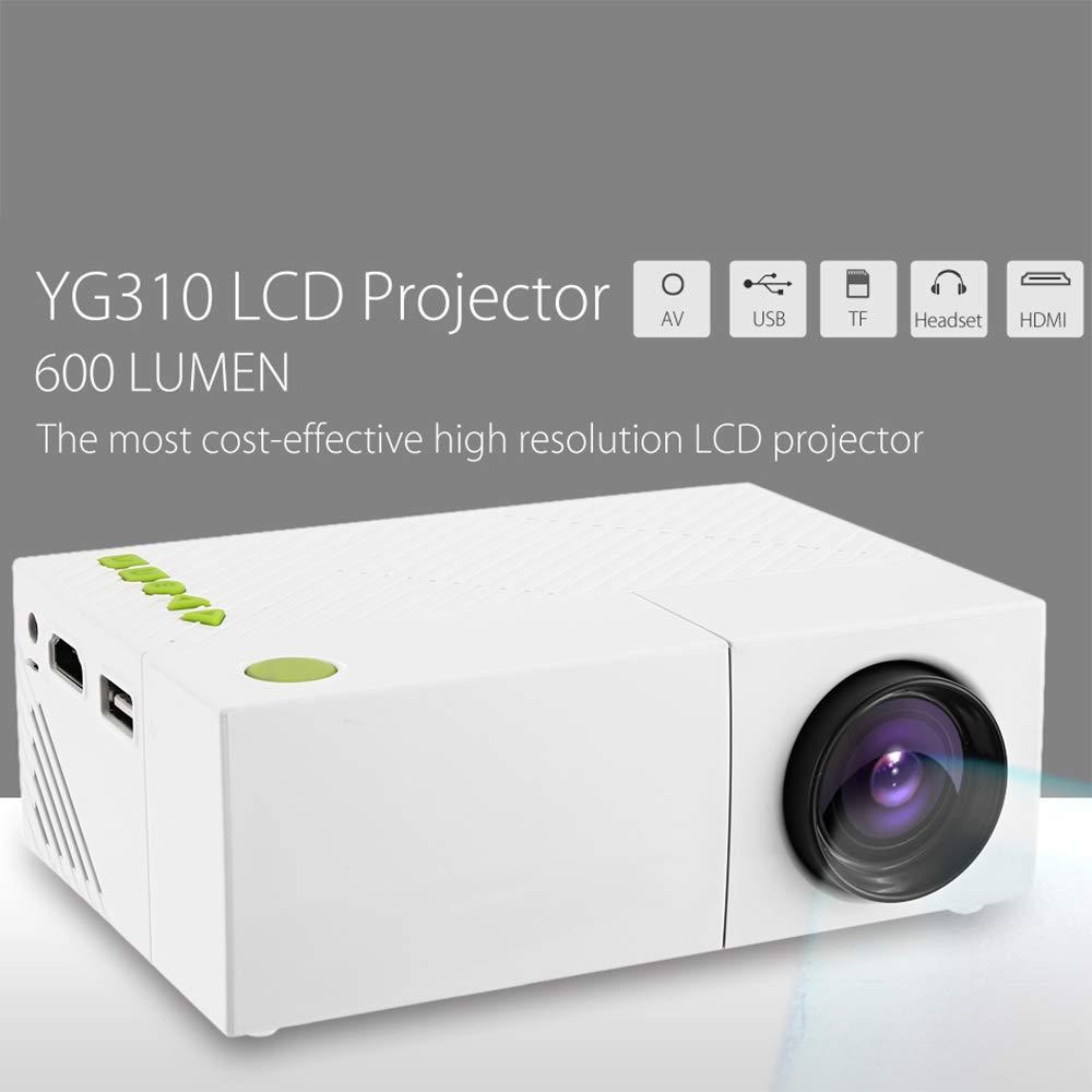 Proyector LED De Alta Definición para El Hogar, Micro 1080P HD ...