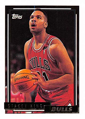 1992-93 Topps Gold Basketball #359 Stacey King Chicago Bulls Official NBA Trading Card
