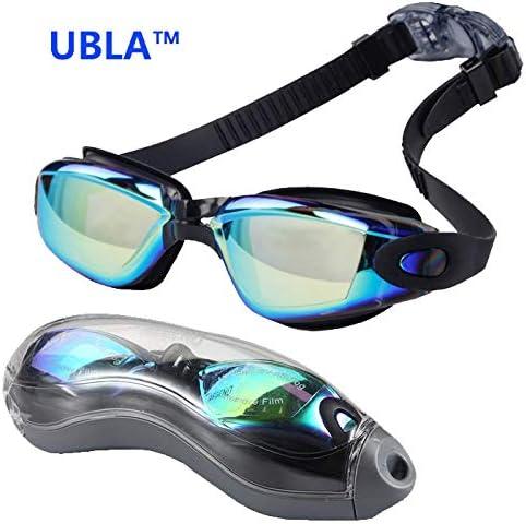 Gafas de Natación, Antiniebla Gafas Natacion, Protección UV sin Fugas, Gafas para Nadar para Adulto Hombre Mujer y Niños