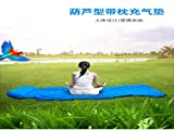 yumiao Ultra-light outdoor inflatable cushion Moisture-proof pad single automatic inflatable cushion camping tent air cushion Picnic mat