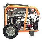 Smart Generators CARB-approved Portable 8400-watt Tri-fuel Generator Package
