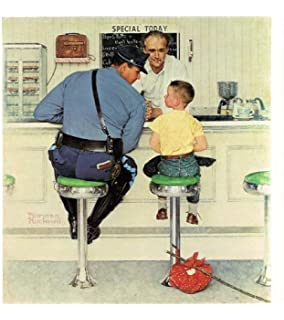 amazon com norman rockwell freedom from want american happy family