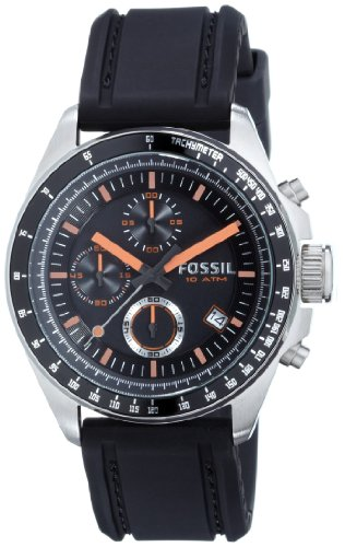 Fossil Chronograph Black Dial Men's Watch   CH2647