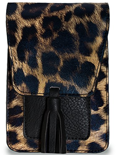 - K. Carroll Women's Harper Leopard Vegan Leather