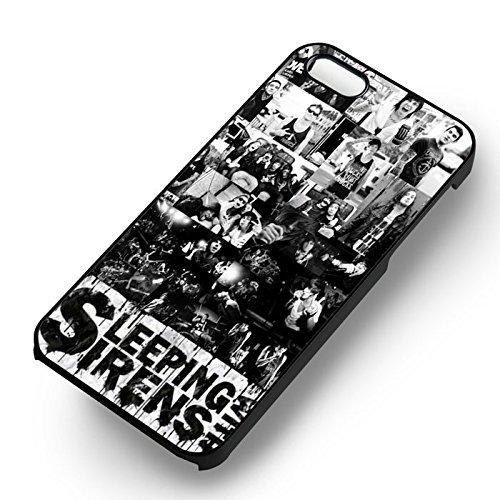 Sleeping With Sirens Collage pour Coque Iphone 6 et Coque Iphone 6s Case (Noir Boîtier en plastique dur) G5E3NQ