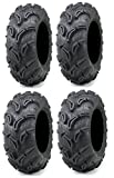 Full set of Maxxis Zilla 23x8-12 and 23x10-12 ATV Mud Tires (4)