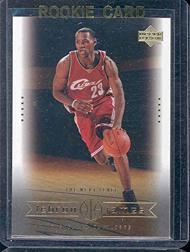 2003 Upper Deck #24 The Next Level Lebron James Rookie Card - Mint Condition Ships in a Brand New Holder