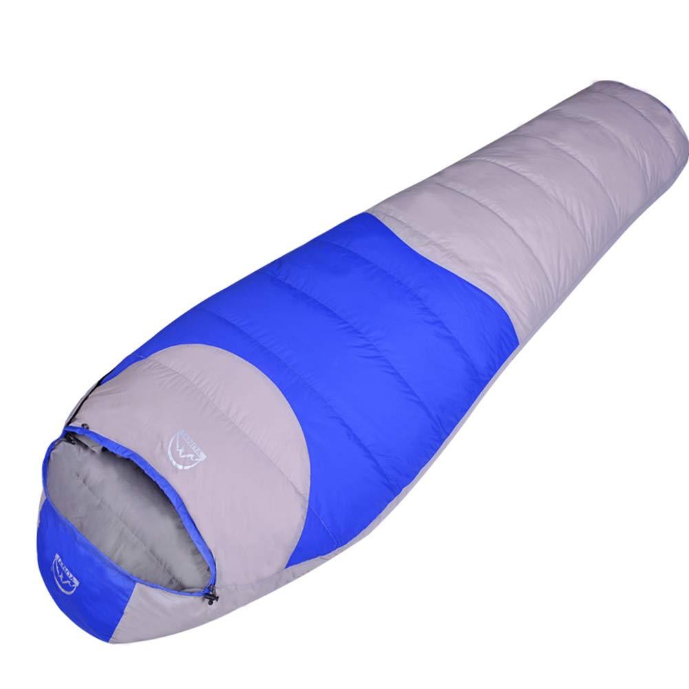 Lxhgl Camping Sleepingbag Mumie Ente Unten Umschlag Mommy Kompakte Hülle Geeignet Für Die Vier Jahreszeiten Super Isolierung