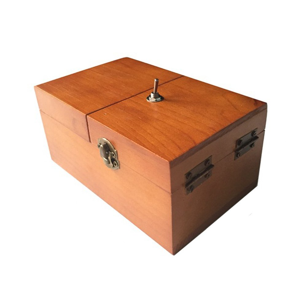 Amazon Com Lshcx Wooden Leave Me Alone Useless Box Turns