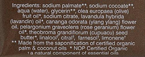 John Master Organics Geranium/Ylang Ylang Soap, Lavender Rose, 4.5 Ounce