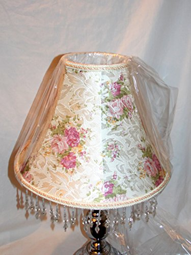 NEW VICTORIAN STYLE PINK ROSE FLORAL PATTERN WITH DECORATIVE
