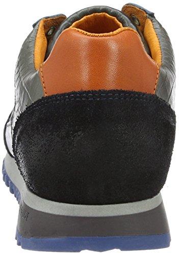Cycleur de luxe DALLAS - Sneakers de cuero para hombre Mehrfarbig (NAVY + DARK RUST + WINTER GREY)