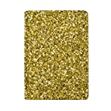jiebokejiHFGD Passport Holder Gold Glitter Funny Passport Cover Case Wallet Card Storage Organizer for Men Women Kids 5.51 in x 3.94 in