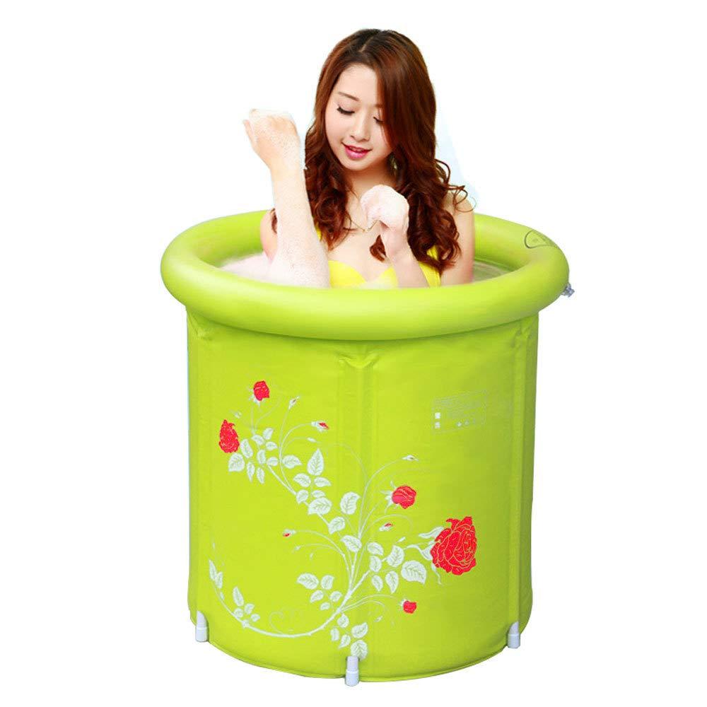 disfruta ahorrando 30-50% de descuento amarillo L KFRSQ KFRSQ KFRSQ Bañera Inflable de plástico Bañera Plegable para Adultos Baño de bañera Bañera para Adultos  grandes precios de descuento
