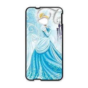 HTC One M7 Cell Phone Case Black Disney Cinderella Character Cinderella SSC