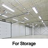 LED Shop Lights for Garage Linkable 4FT 5000K