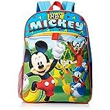 Disney Boys' Mickey 5 Pc Set Backpack, Blue