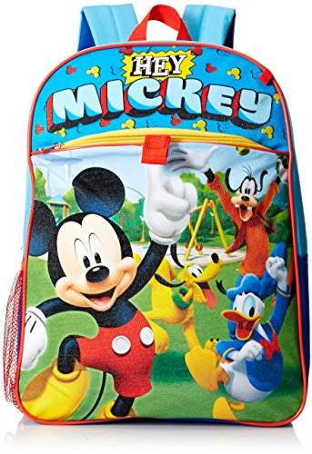 Price comparison product image Disney Boys' Mickey 5 Pc Set Backpack, Blue