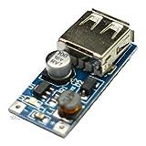 Partstower 5pcs DC-DC Booster converter Module USB Mobile Power Supply Module 0.9V-5V to 5V 600MA Step Up Module Board DIY