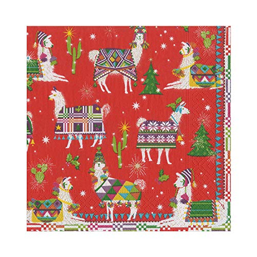 (Caspari Hello Dolli Paper Luncheon Napkins, Two Packs of 20)